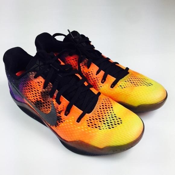 12cc433052c7 Nike Kobe XI Sunset basketball shoes mens 11 new